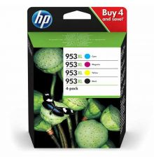 HP 953XL Ink 4 Cartridge Multipack|armenius.com.cy