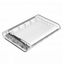 "Home ORICO 3.5"" Transparent External Hard Drive Enclosure"