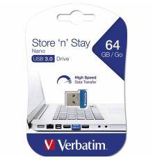 USB Флешки Verbatim USB 3.0 64 GB NANO|armenius.com.cy