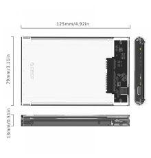 Orico 2.5 in Hard Drive Enclosure / Type-C / 2139C3|  Armenius Store