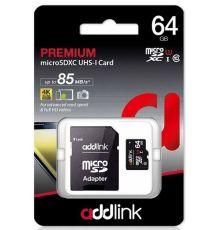 SD Memory Card Addlink 64 GB Micro SDHC class 10|armenius.com.cy