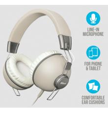 Trust Noma 3.5 mm Headphone - retro ivory|armenius.com.cy