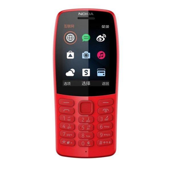 Nokia 210 Dual Sim-Red