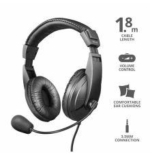 Trust Quasar Headset 3.5mm|armenius.com.cy