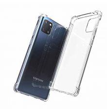 Silicone Case Shockproof Samsung Galaxy A21S Clear|armenius.com.cy