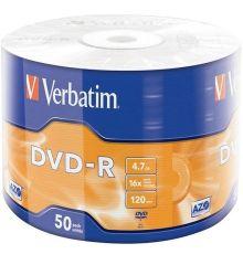 Verbatim DVD-R 4.7 GB SP-50 / Matt Silver / 16X|armenius.com.cy