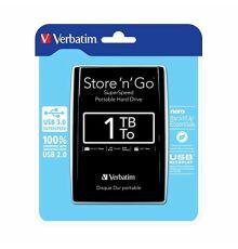 Verbatim USB 3.0 1TB 2,5 BLACK VERBATIM 53023|armenius.com.cy