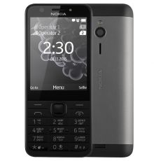 NOKIA 230 Dual black Mobile phone|armenius.com.cy