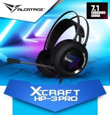 Alcatroz X-Craft HP-3 PRO USB Headset|armenius.com.cy