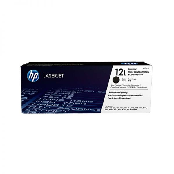 Тонер LaserJet Toner HP 12L Economy Black