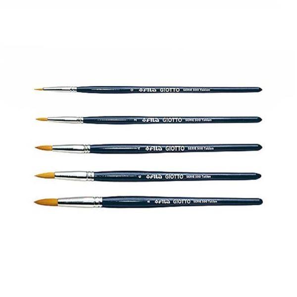 Аксессуары Art round tip brushes series 500|armenius.com.cy