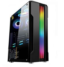 Armaggeddon TRON III ATX Gaming Case Black|armenius.com.cy