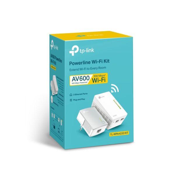 Power Line AV600 TL-WPA4220 Kit EU armenius.com.cy