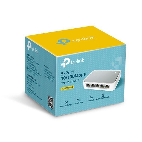 TP-LINK 5-port Desktop Switch TL-SF1005D|armenius.com.cy