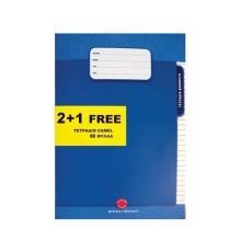 Camel specially ruled soft cover ex books 3 x 60 sheets |