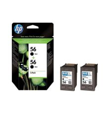 Ink cartridge HP 56 2-pack Black Original Ink Cartridges