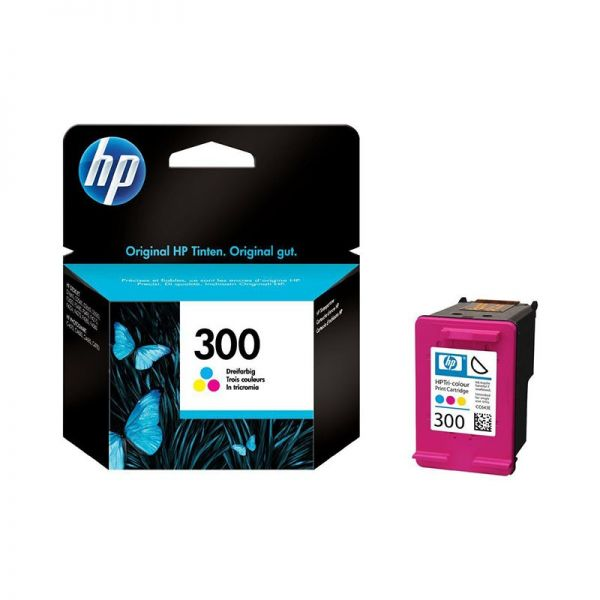 Ink cartridge HP 300 Tri-colour Ink Cartridge