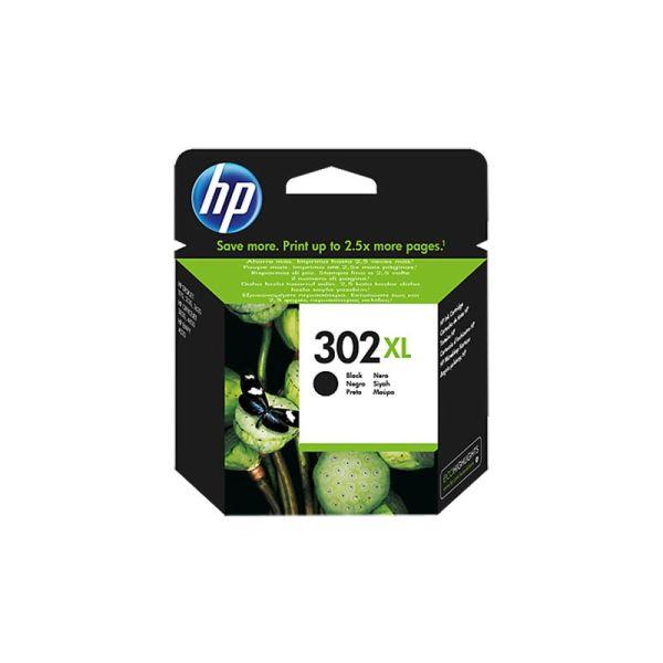 HP 302 XL Black Ink Cartridge F6U68AE|armenius.com.cy