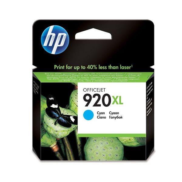 Ink cartridge HP 920XL Cyan Officejet Ink