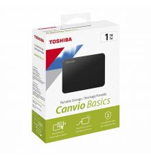 Toshiba Canvio Basics 1TB USB 3.0 External Portable Drive