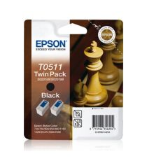 Ink cartridge Twinpack Black T0511|armenius.com.cy