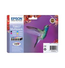 Multipack 6-colours T0807 Claria Photographic Ink |