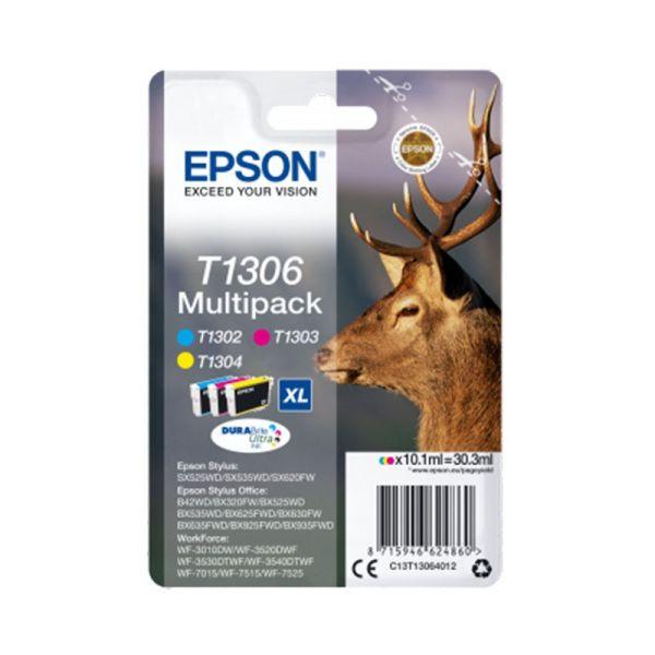Ink cartridge Multipack 3-colours T1306 DURABrite Ultra