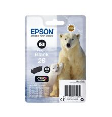 Ink cartridge Singlepack Photo Black 26 Claria Premium