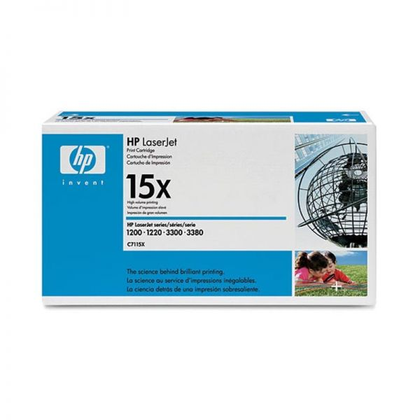 Toner HP LaserJet C7115X Black Print Cartridge