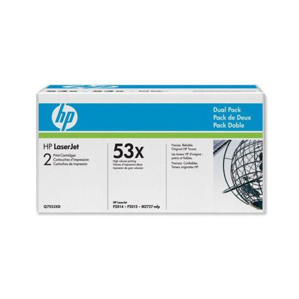 Toner HP LaserJet Dual Pack Black Print Cartridges