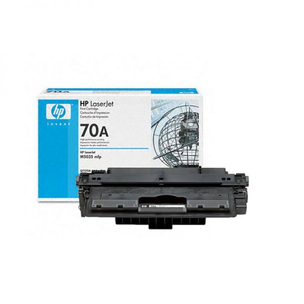 Toner HP 70A Black Original LaserJet Toner Cartridge