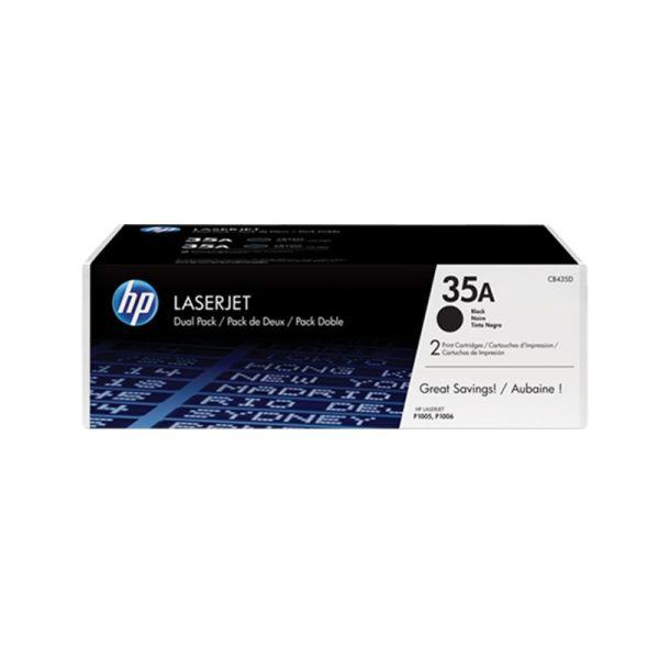 Toner HP 35A Black Dual Pack LaserJet Toner Cartridges