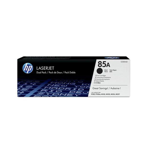 Toner HP 85A Black Dual Pack LaserJet Toner Cartridges