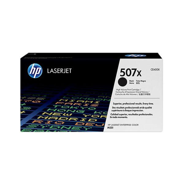 Toner HP 507X Black LaserJet Toner Cartridge