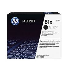 Toner HP 81X High Yield Black Original LaserJet Toner Cartridge