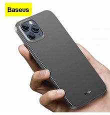 Baseus Back Case Apple IPhone 12/12 Pro Black|armenius.com.cy