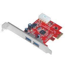 Unitek Y-7301 2 Port USB3.0 PCI Express Card|armenius.com.cy