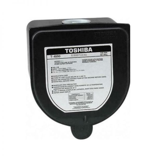 Toner Toshiba Black Toner Cartridge T-4550|armenius.com.cy