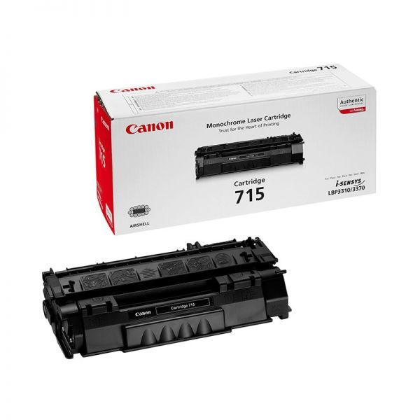 Toner Canon 715 Black Toner Cartridge CAN-715|armenius.com.cy