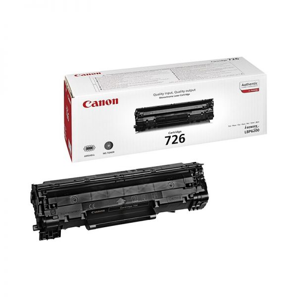 Toner Canon 726 black Toner Cartridge CAN-726|armenius.com.cy