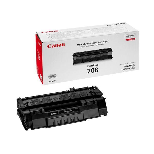 Toner Canon 708 black toner cartridge CAN-708|armenius.com.cy