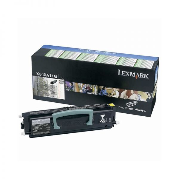 Toner Lexmark Black Toner Cartridge X340A11G|armenius.com.cy