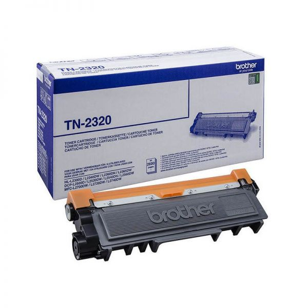 Toner Brother Black Toner Cartridge TN-2320|armenius.com.cy