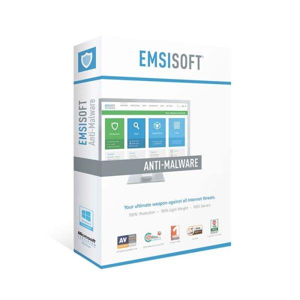 Безопасность Emsisoft Anti-Malware 3 PC For 1