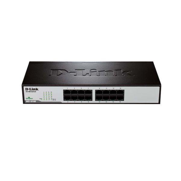 Network switch SWITCH D- LINK 16-Port 10/100 Unmanaged Desktop