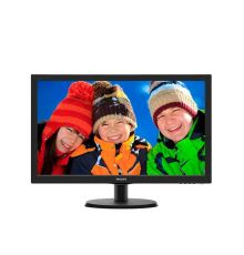 MONITOR PHILIPS 23.6'' LED Wide Full HD Multimedia