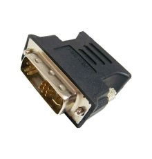 Cables DVI to VGA adapter DVI-A MALE to VGA FEMALE BLACK|armenius.com.cy