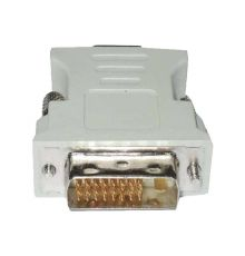 DVI to VGA adapter DVI24+1MALE to VGA FEMALE BLACK | armenius.com.cy