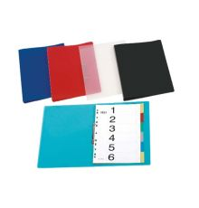 Filing & Archiving PP RING BINDERS A4 BLACK RED