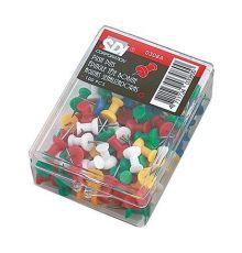 PUSH PINS SDI COLOURD|armenius.com.cy